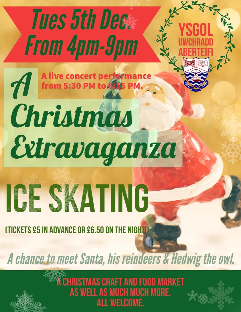 Christmas Extravaganza Poster ENG